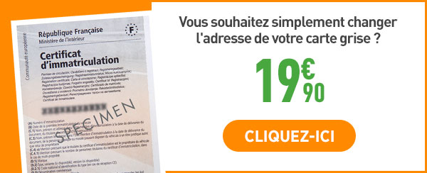 carte grise changement adresse prix Carte grise en ligne   infos pratiques & FAQ   Feu Vert