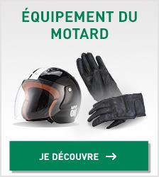équipement motard