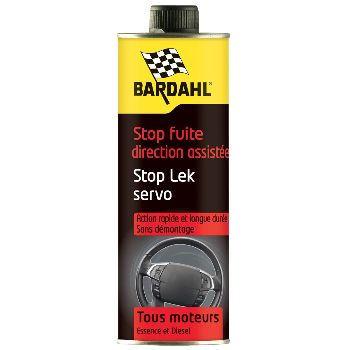 Stop-fuite direction assistée Bardahl 300 ml