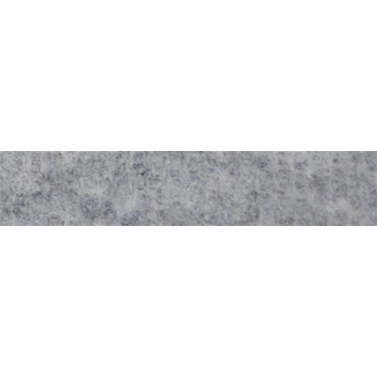 Moquette acoustique gris clair 70 x 140 cm