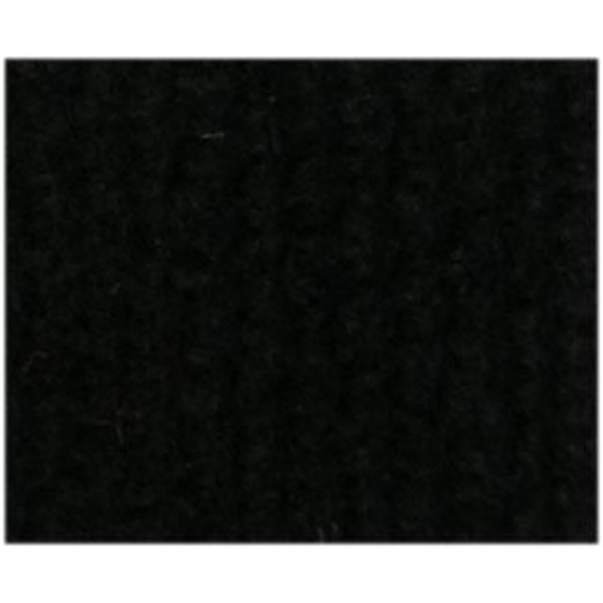 Moquette acoustique voiture noir 70 x 140 cm