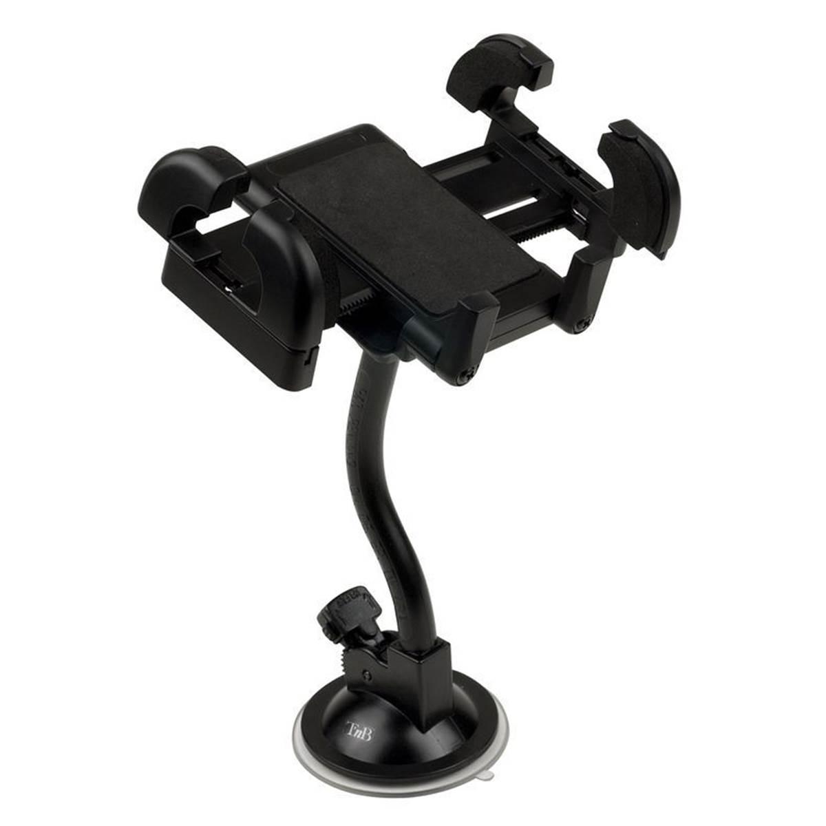 Support pince avec bras flexible sur pare-brise T'nB