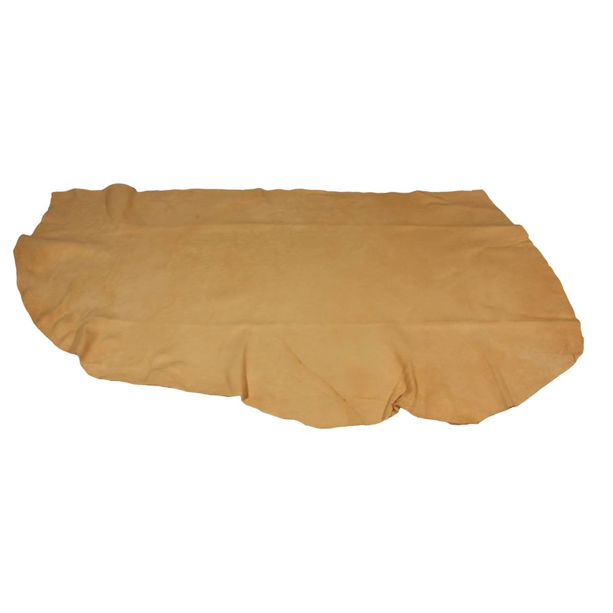 Peau de chamois naturelle Feu Vert 37 x 55 cm (L)