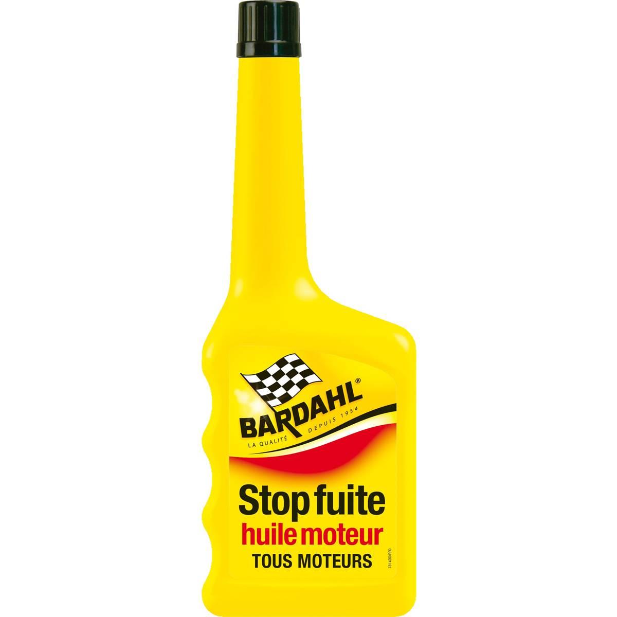 Stop-fuite huile moteur Bardahl 350 ml