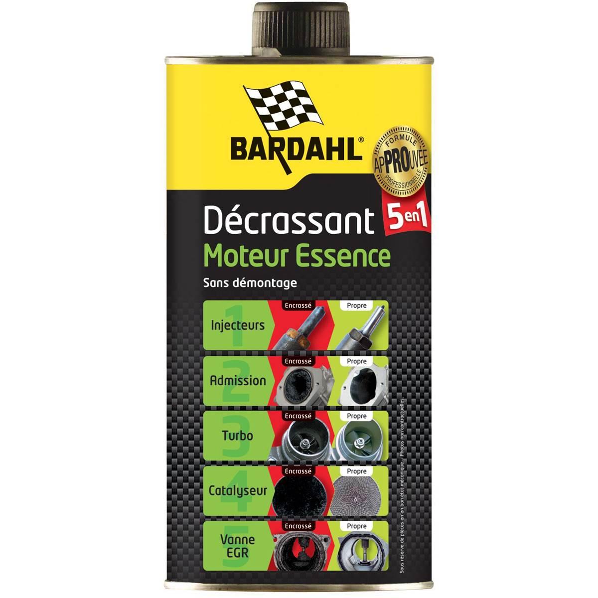 Décrassant moteur 5 en 1 Essence Bardahl 1 L