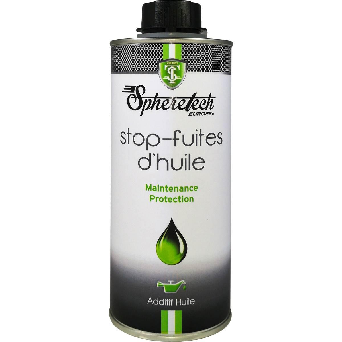 Stop-fuite huile moteur Spheretech 375 ml