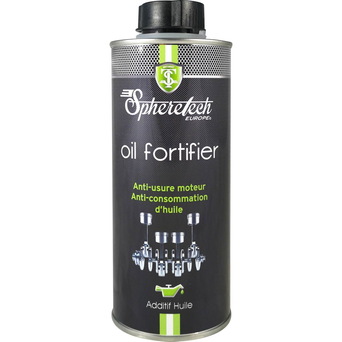 Anti-usure & consommation d'huile moteur Spheretech 375 ml