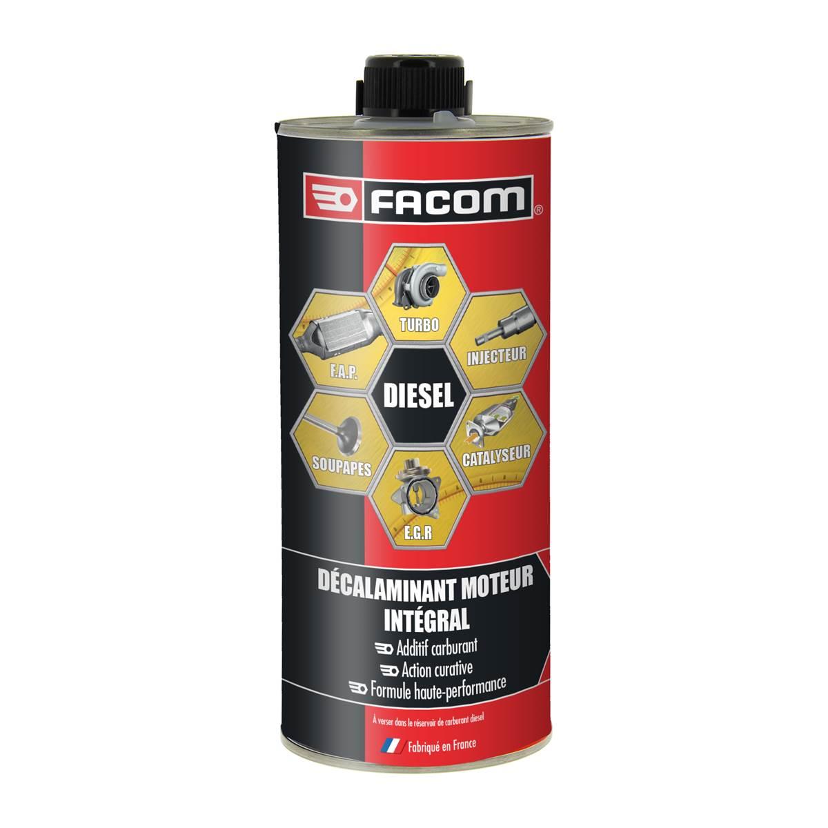 Décrassant moteur 6 en 1 Diesel Facom 1 L