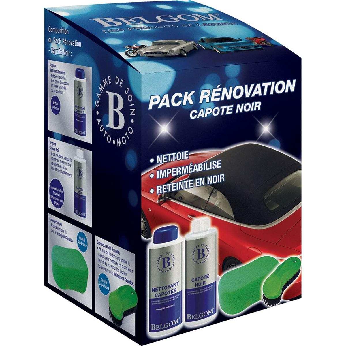Pack rénovation capotes noir Belgom
