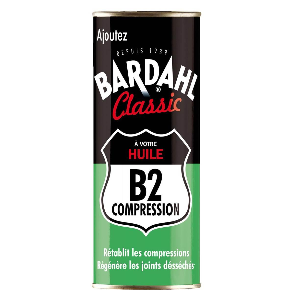 B2 compression moteur ancien Bardahl 400 ml
