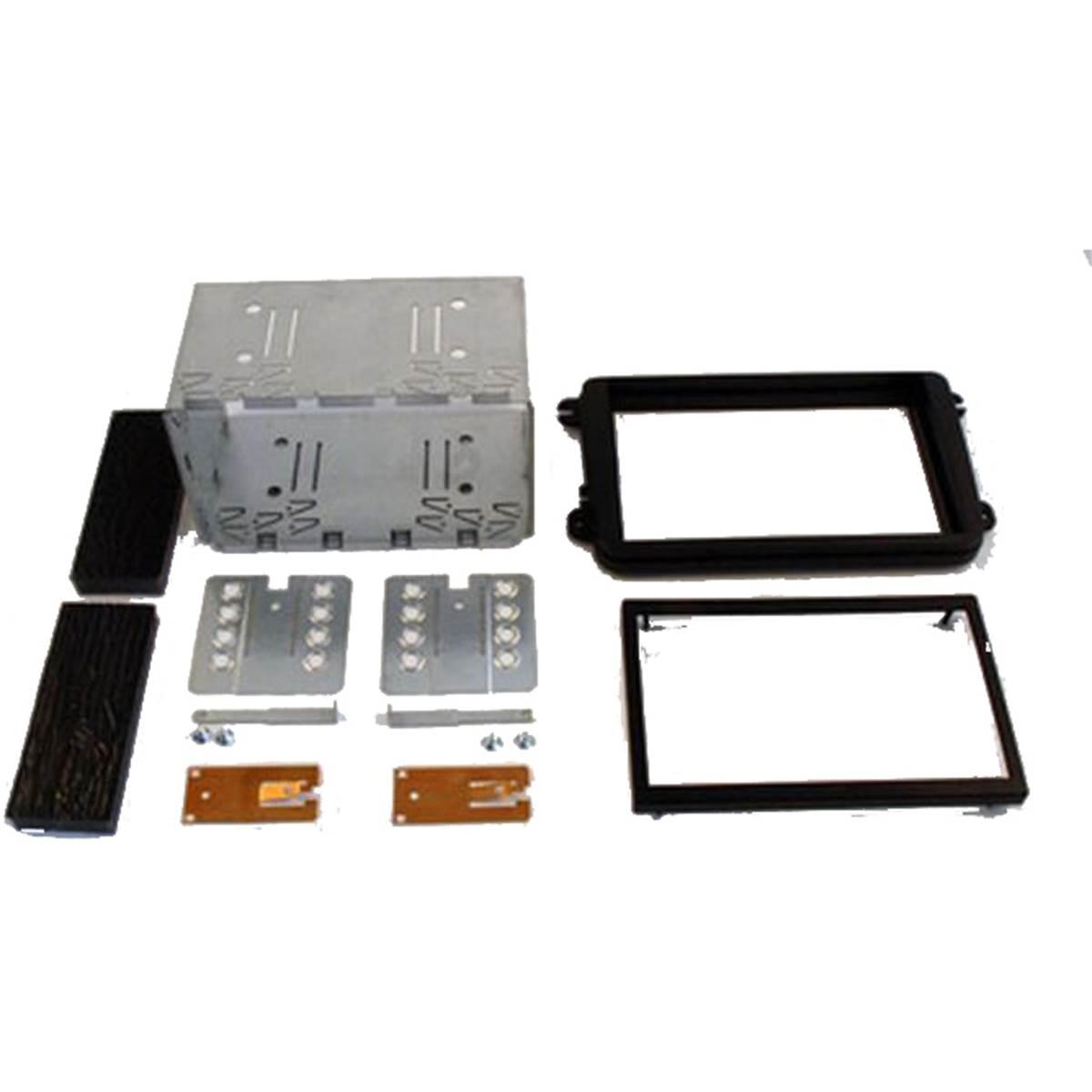 Kit d'intégration autoradio 2DIN pour SKODA FABIA 2007> ROOMSTER 2006> VOLKSWAGEN