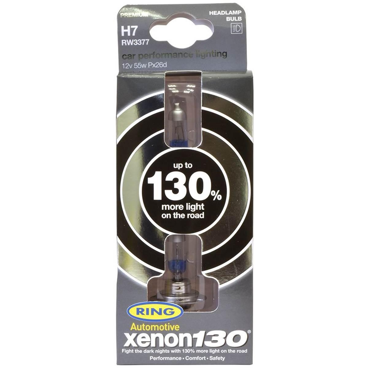 Ampoules H7 XENON +130%