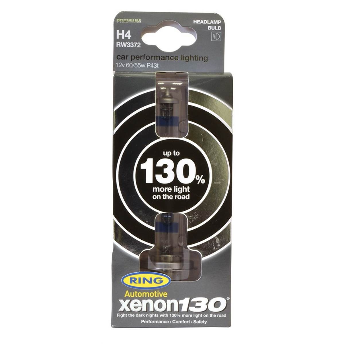 Ampoules H4 XENON +130%