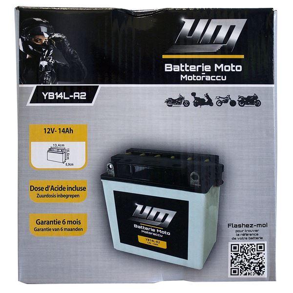 batterie moto et scooter yb14l a2 feu vert