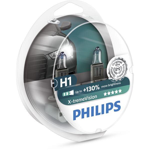 1 ampoule Philips H1 X treme Power Feu Vert