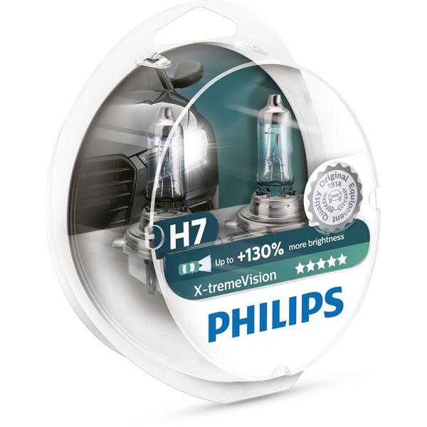 1 ampoule Philips premium White Vision H1 Feu Vert