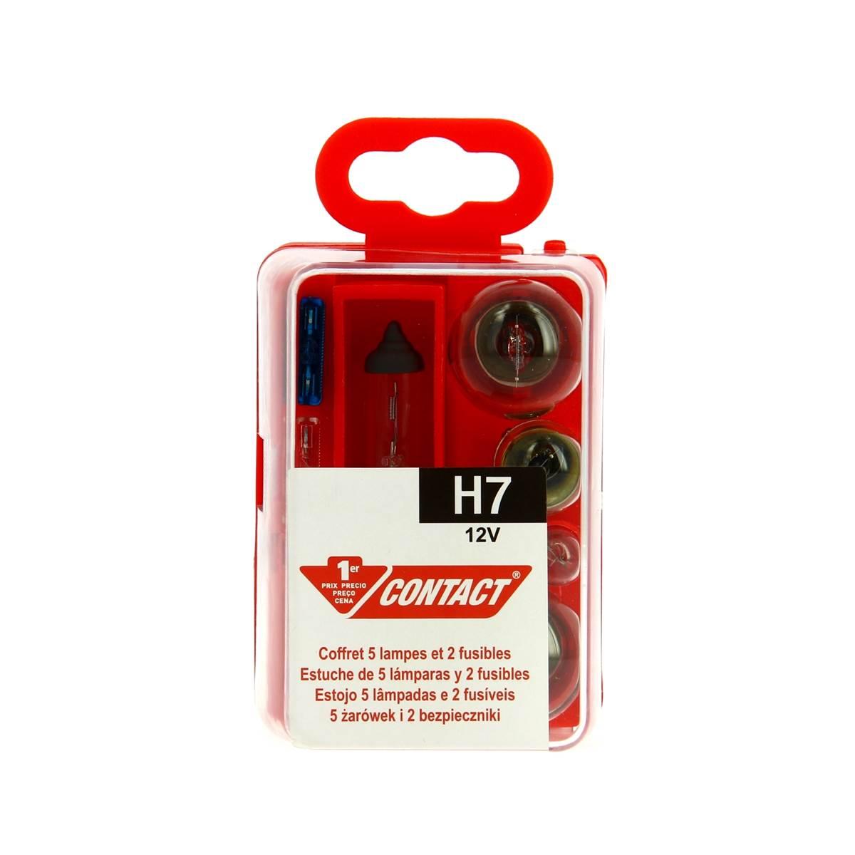 Coffret d'ampoules H7 Contact
