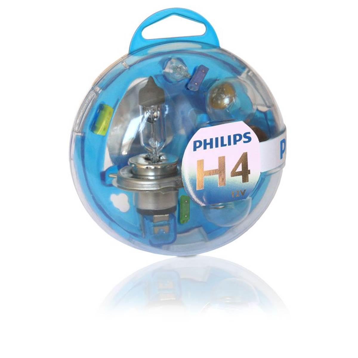 Coffret d'ampoules Philips premium H4
