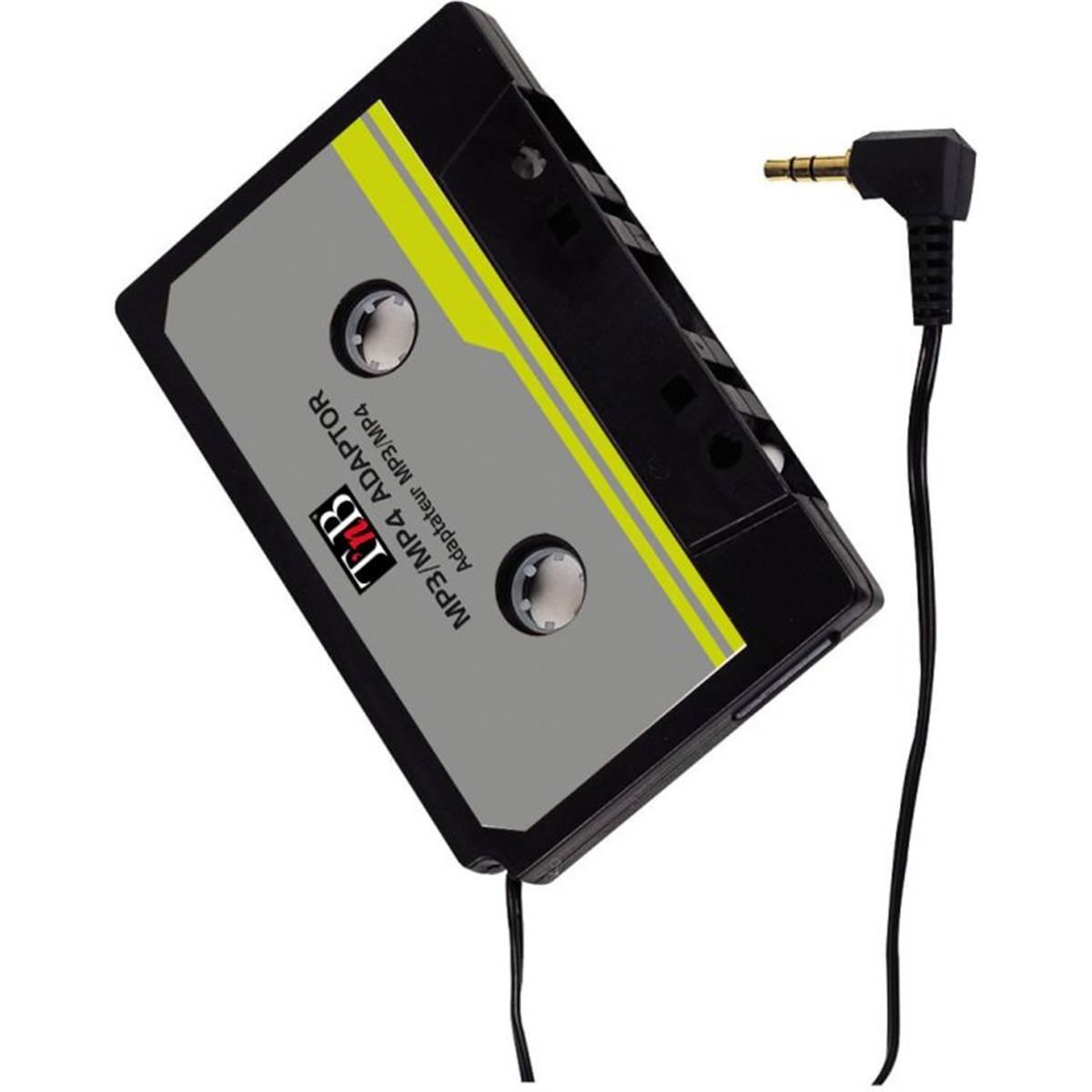 Adaptateur sur autoradio K7 pour MP3/CD T'NB