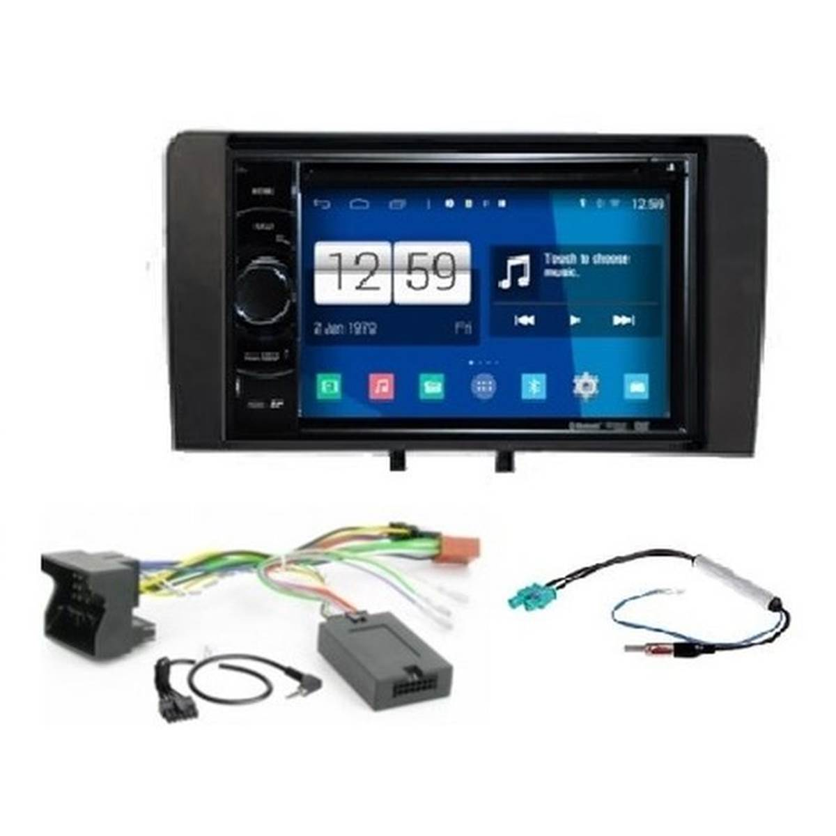 AUTORADIO GPS ANDROID S160 + PACK A3 BOSE