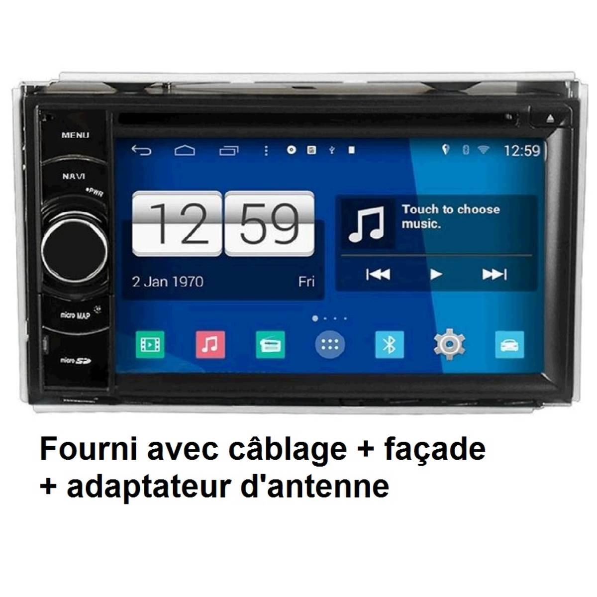 AUTORADIO GPS ANDROID S160 + PACK 300C NAV