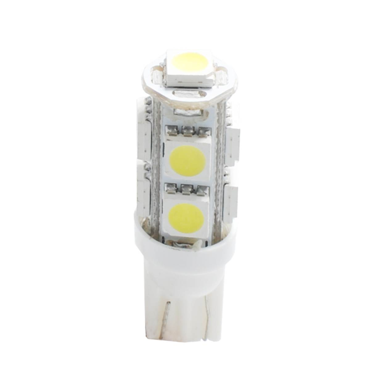 2 ampoules T10 avec 9 LED blanche