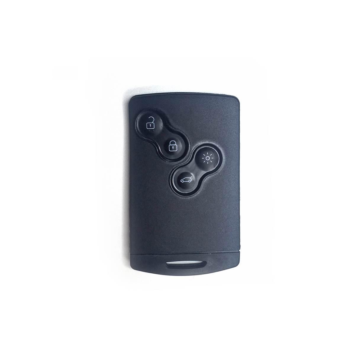 Coque de clé adaptable pour Renault, 4 boutons