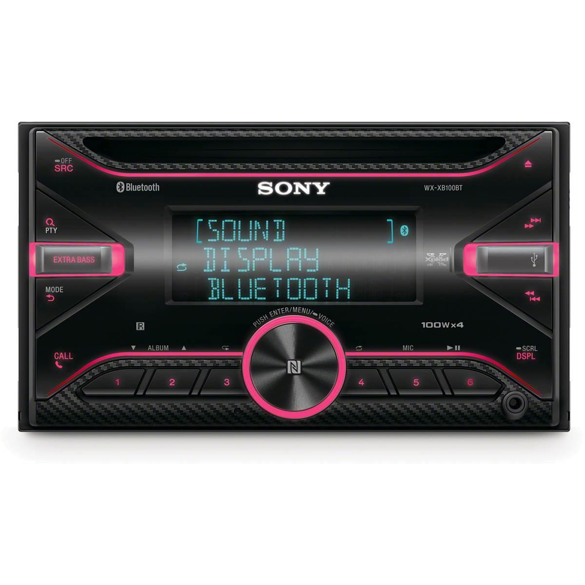 Autoradio 2DIN Sony WX-XB100BT