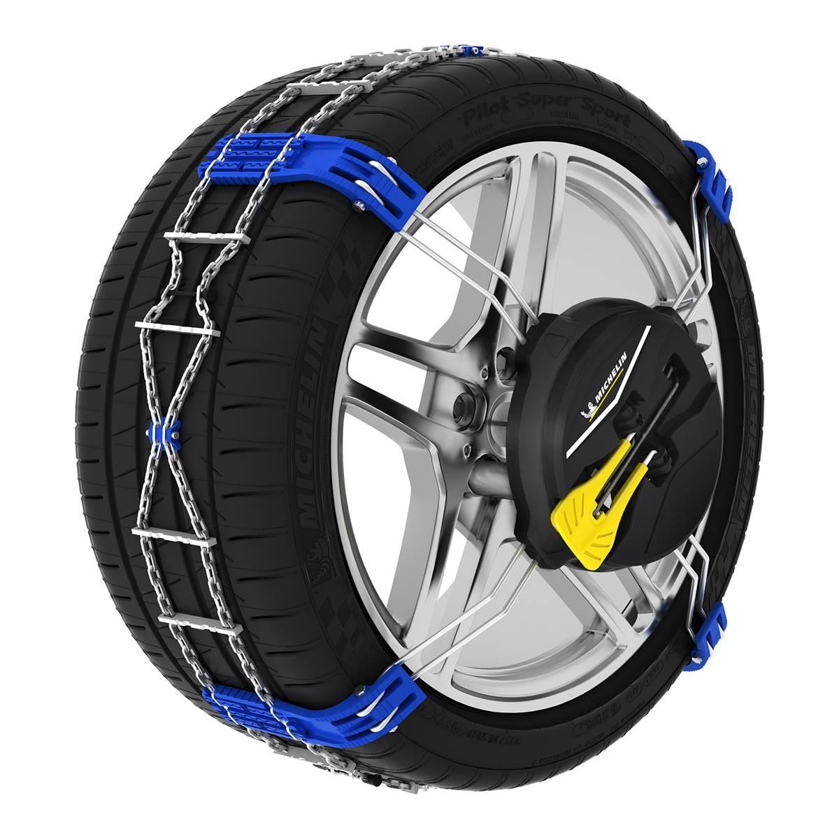 2 chaînes neige Fast Grip Michelin n°80