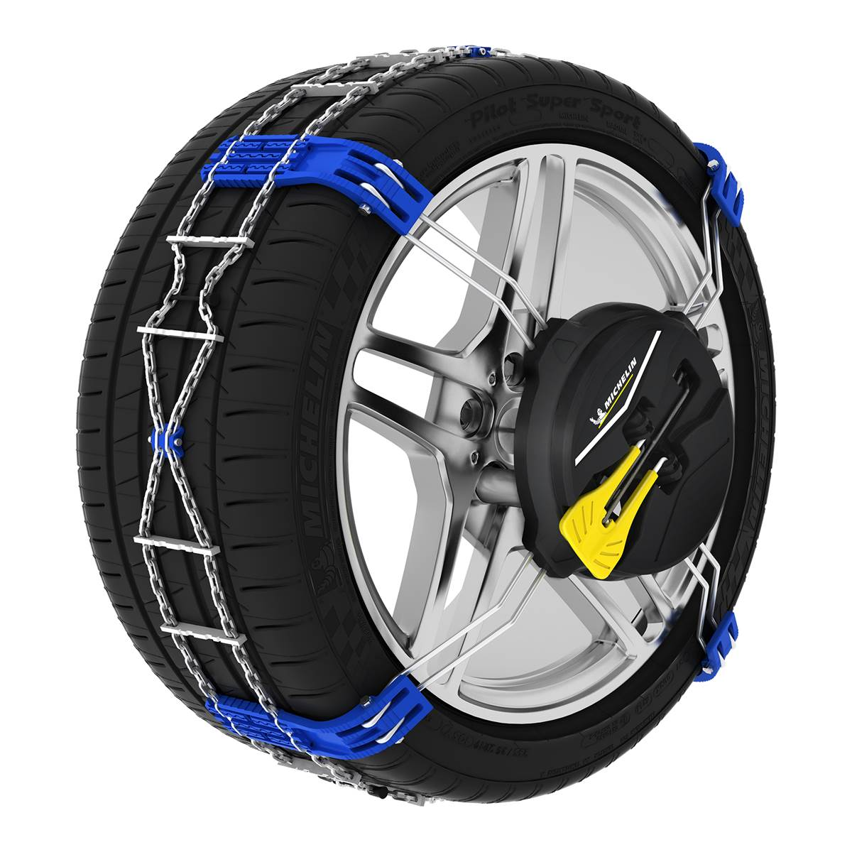 2 chaînes neige Fast Grip Michelin n°140