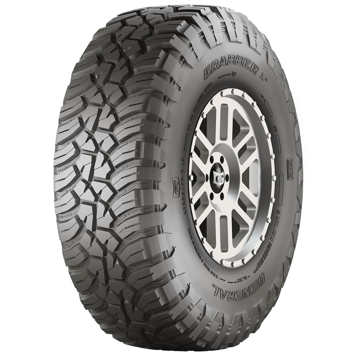 Pneu 4X4 General Tire 265/70R17 121Q Grabber X3