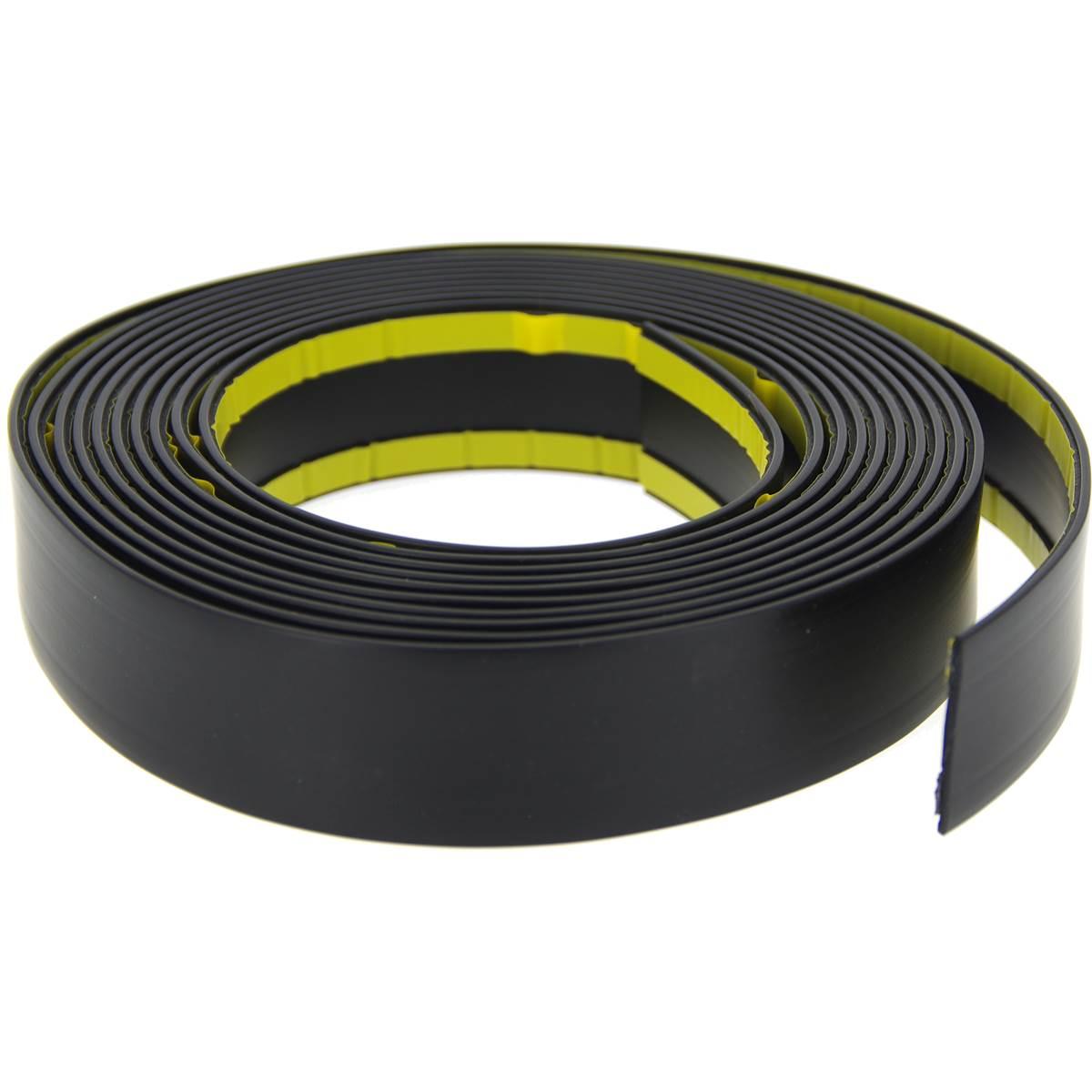 Baguette de protection noire 40mm X 4m