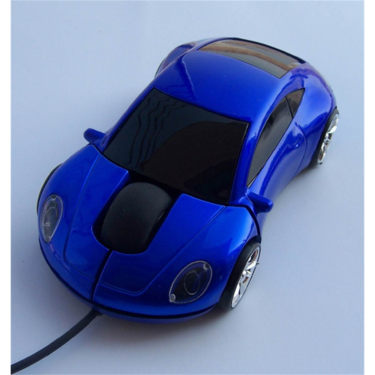 Souris optique filaire USB voiture bleue RD Innovation