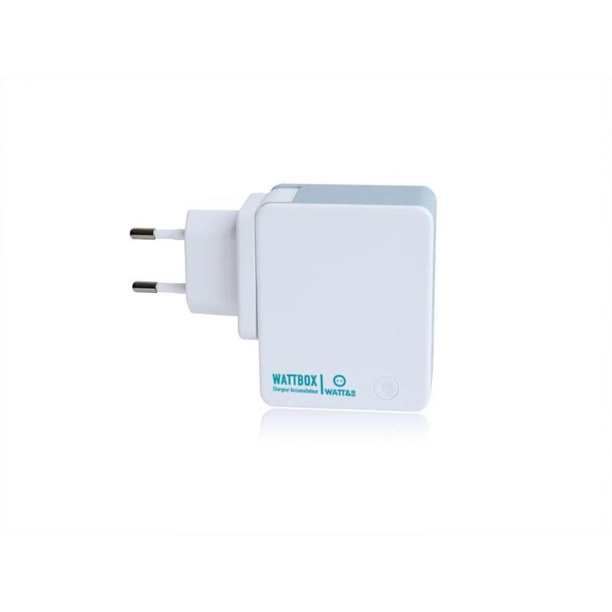 Chargeur secteur Powerbank 2 USB 150 pays Watt&Co