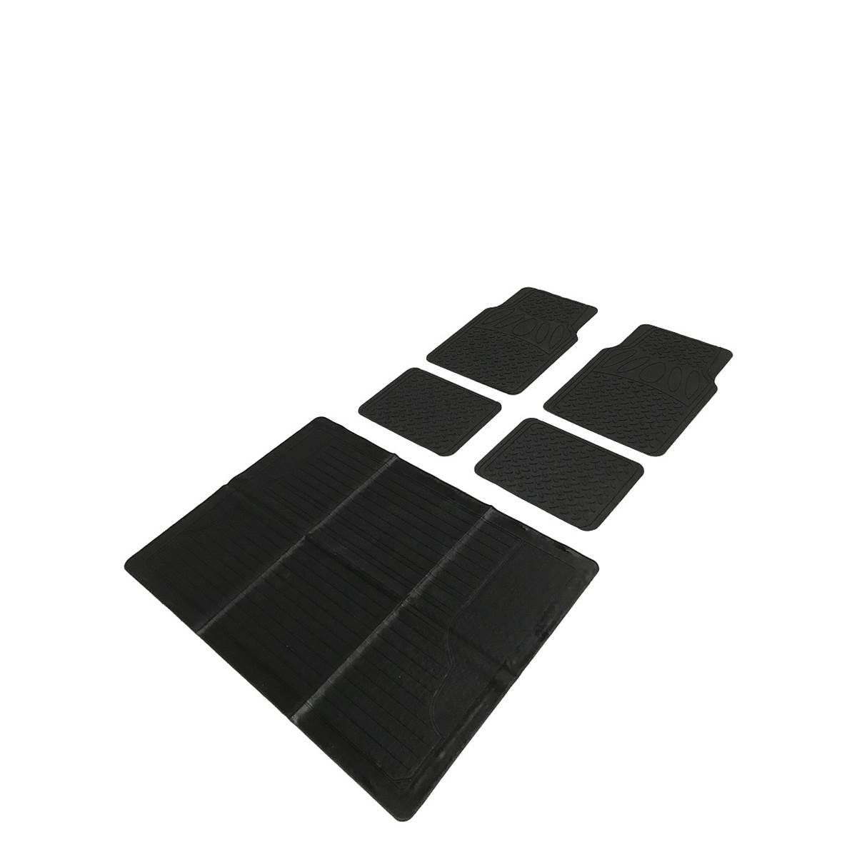 4 tapis PVC ALEX + 1 tapis coffre