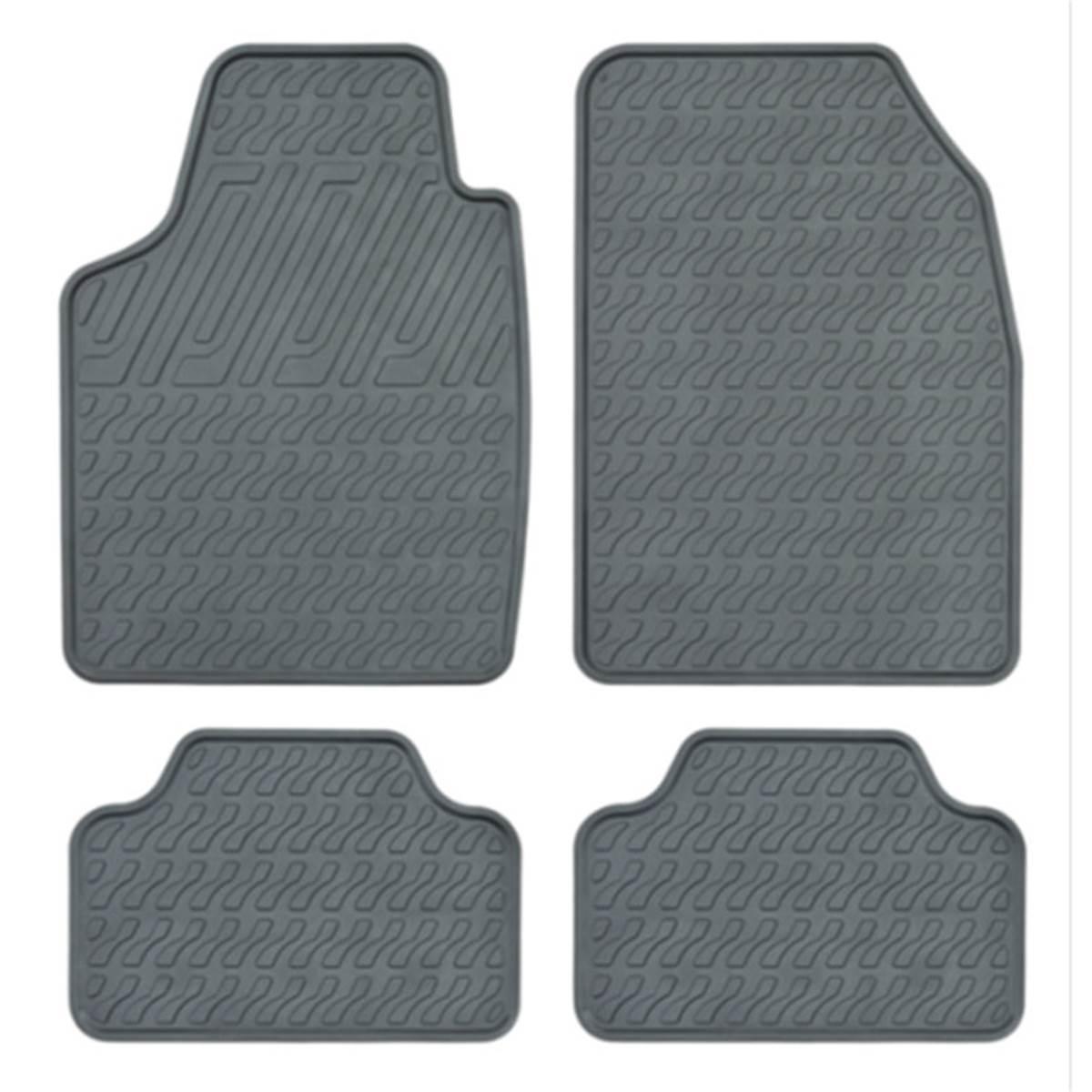 4 Tapis de voiture universels PVC MAGICA T2