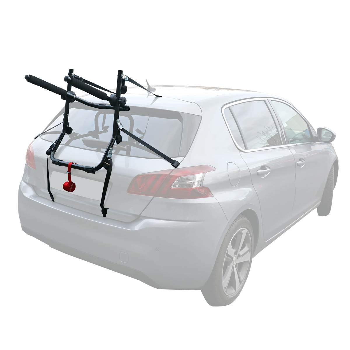 Porte-vélos à sangles Contact Cargo 3 pour 3 vélos