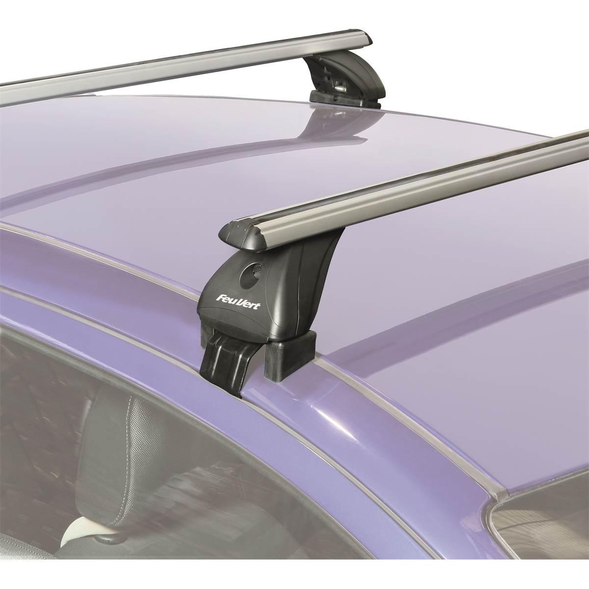 2 barres aluminium BK113 - Portage en kit