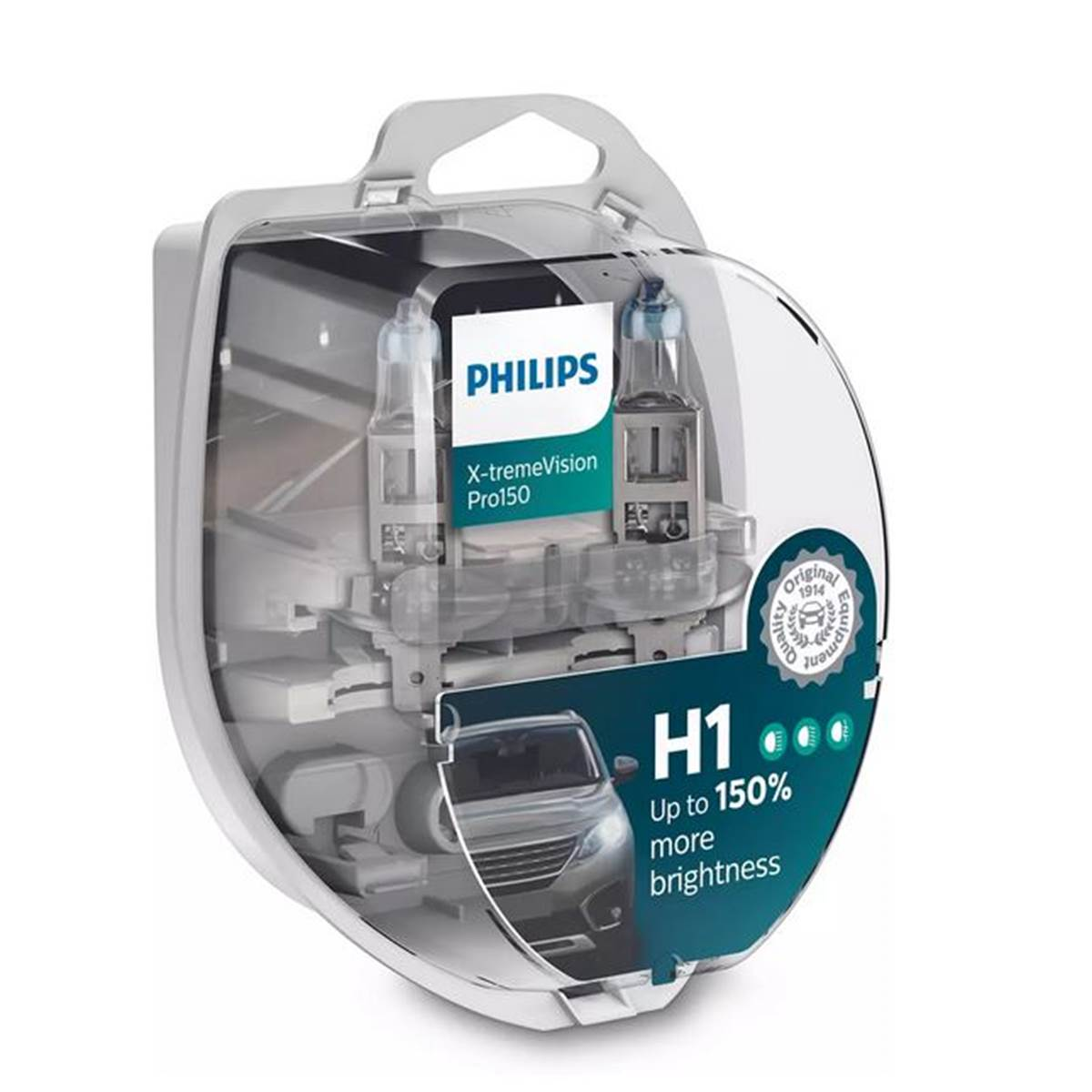 2 ampoules Philips Premium X-treme Vision Pro150 H1