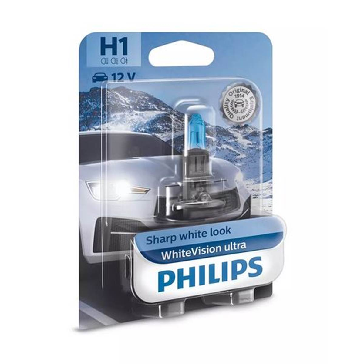 1 ampoule Philips Premium White Vision Ultra H1