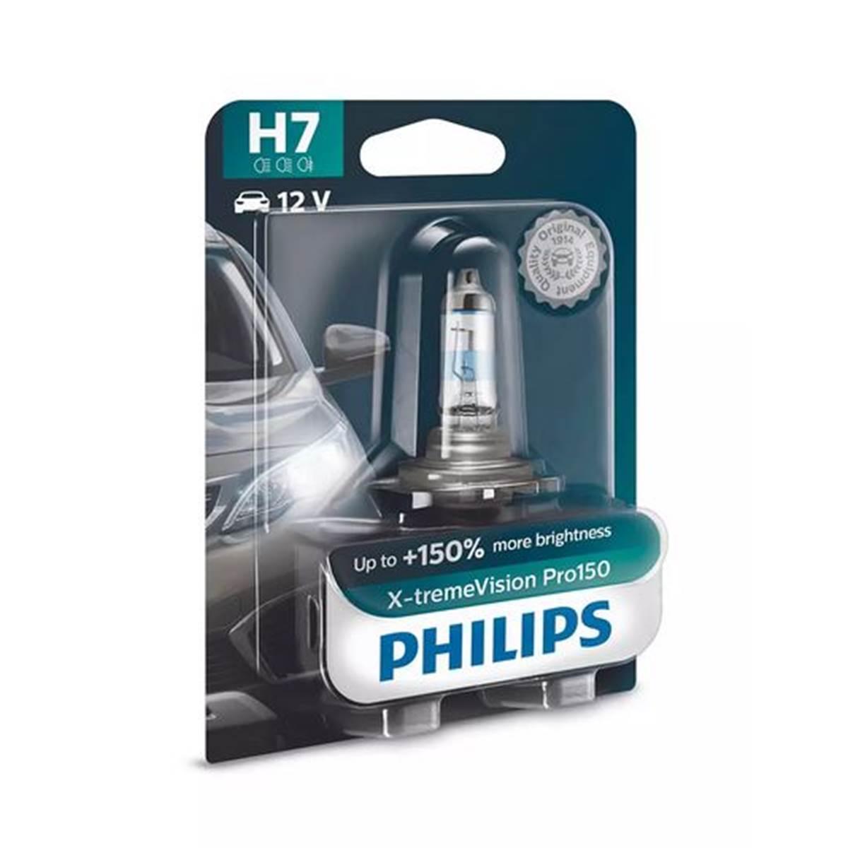 1 ampoule Philips Premium X-treme Vision Pro150 H7