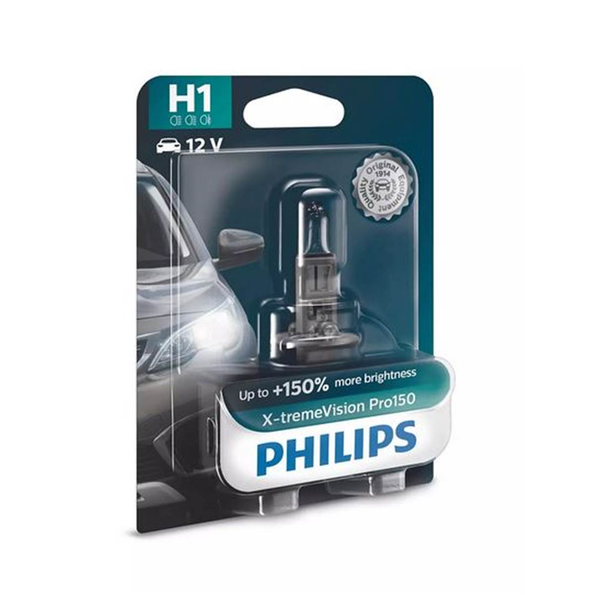 1 ampoule Philips Premium X-treme Vision Pro150 H1