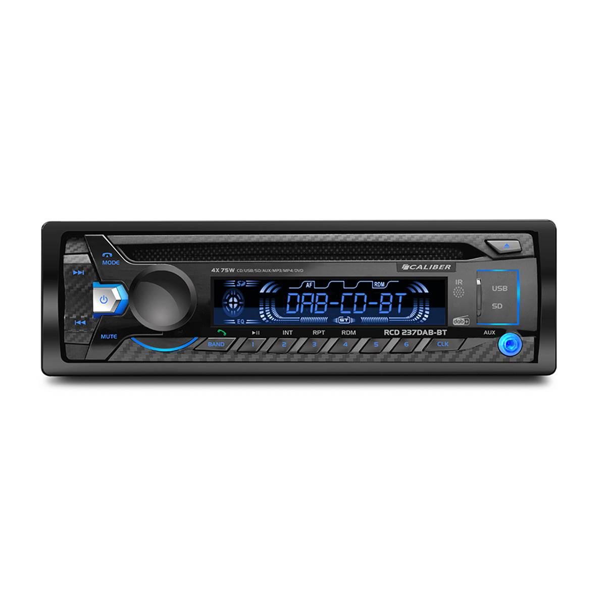 Autoradio Caliber RCD237DAB-BT
