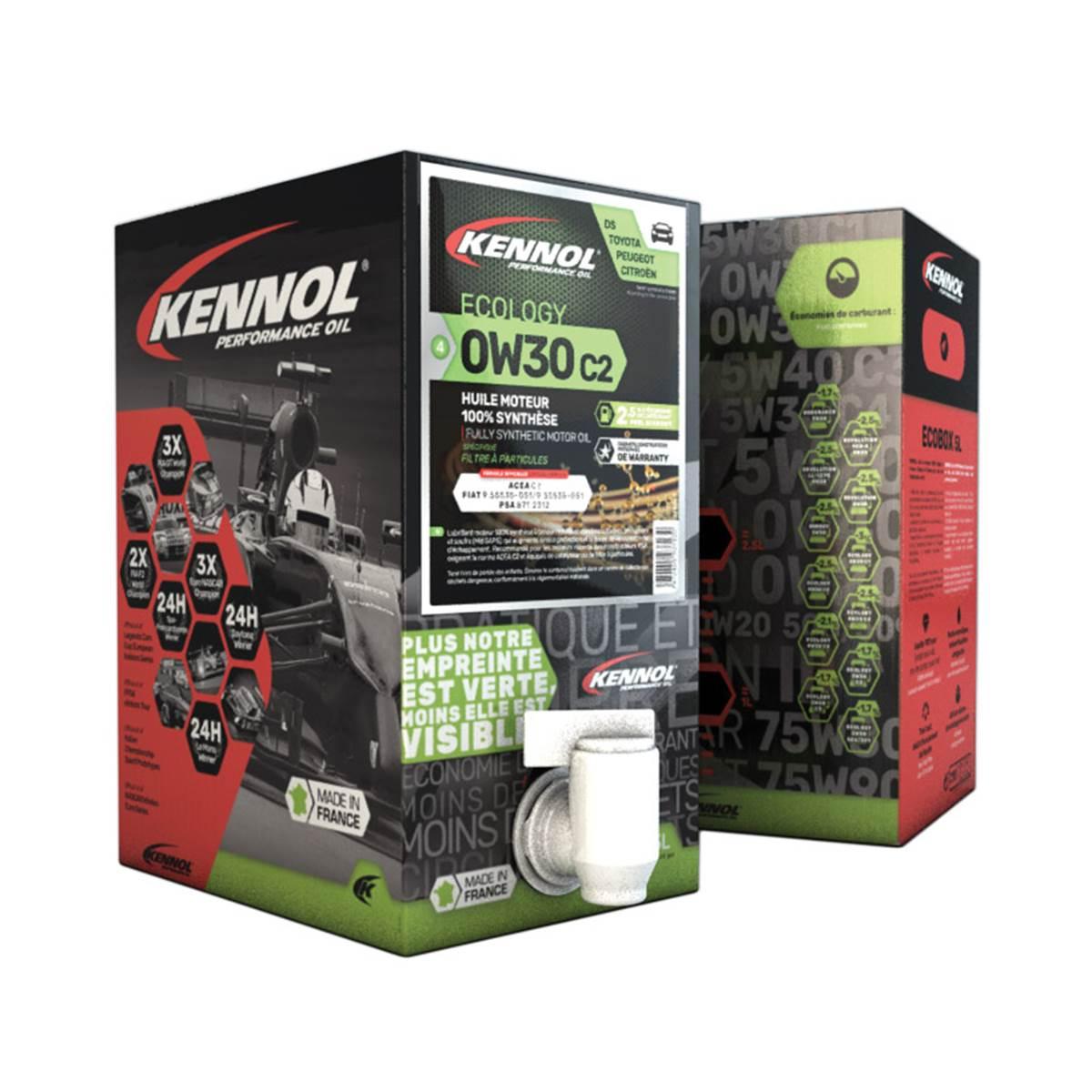 Huile moteur KENNOL Ecobox 0W30 C2 5L