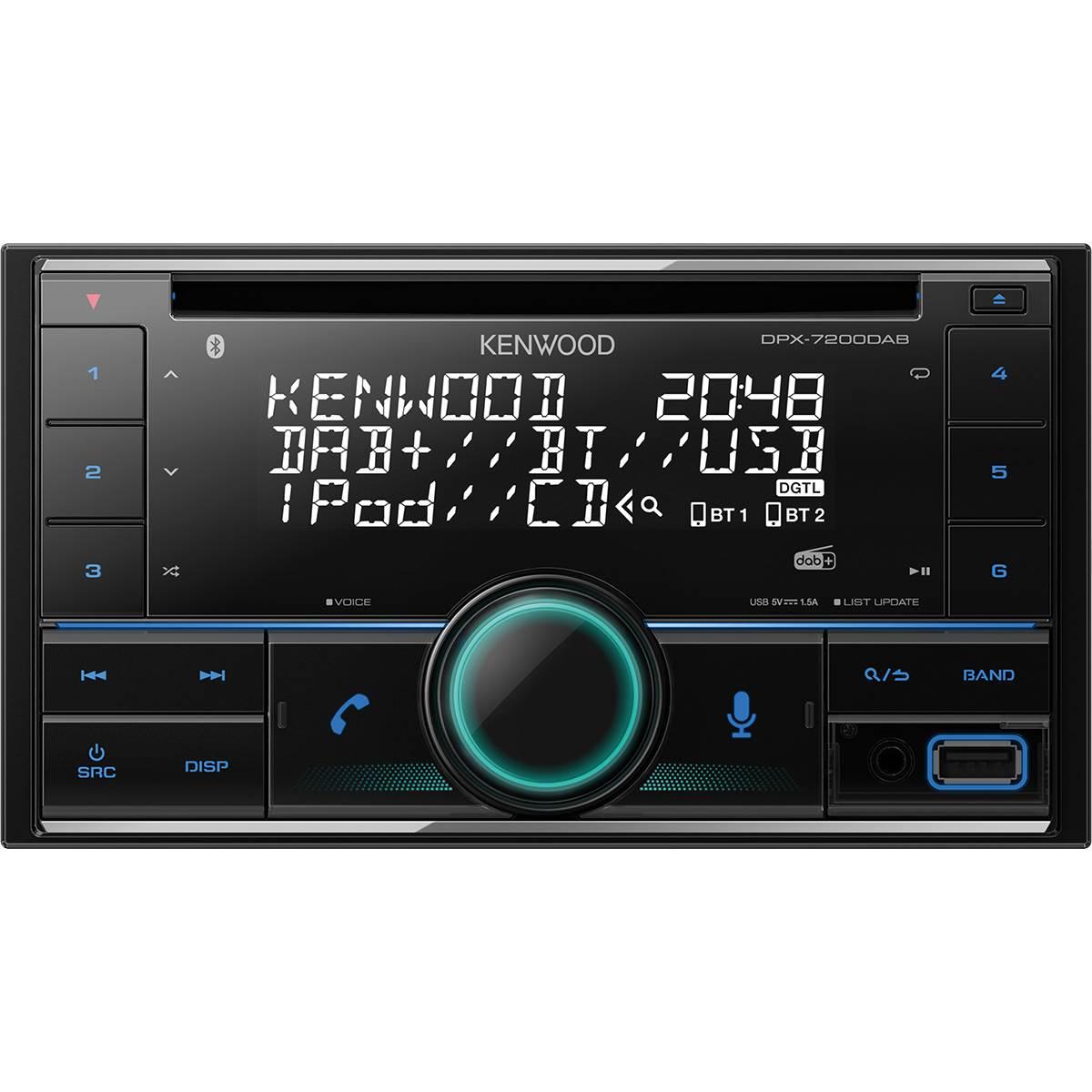 Autoradio DPX-7200DAB Kenwood