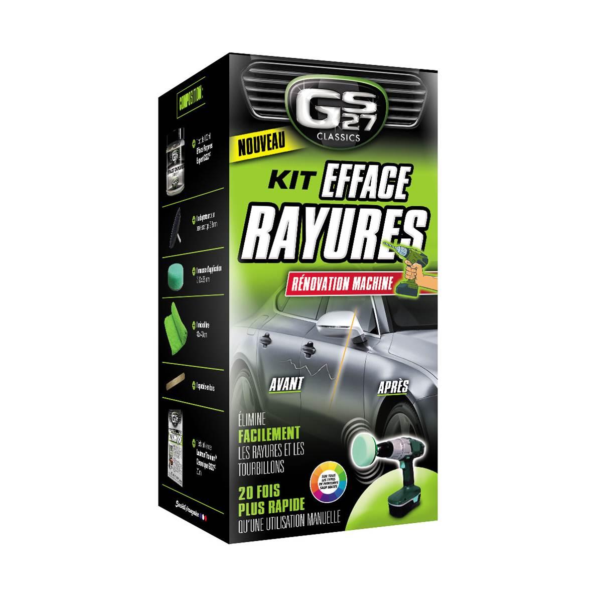Kit Efface Rayures Rénovation Machine GS27