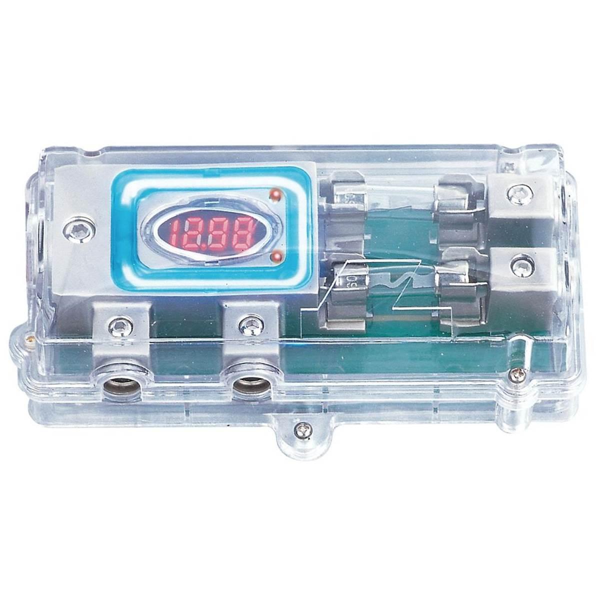 Porte-fusible digital en verre