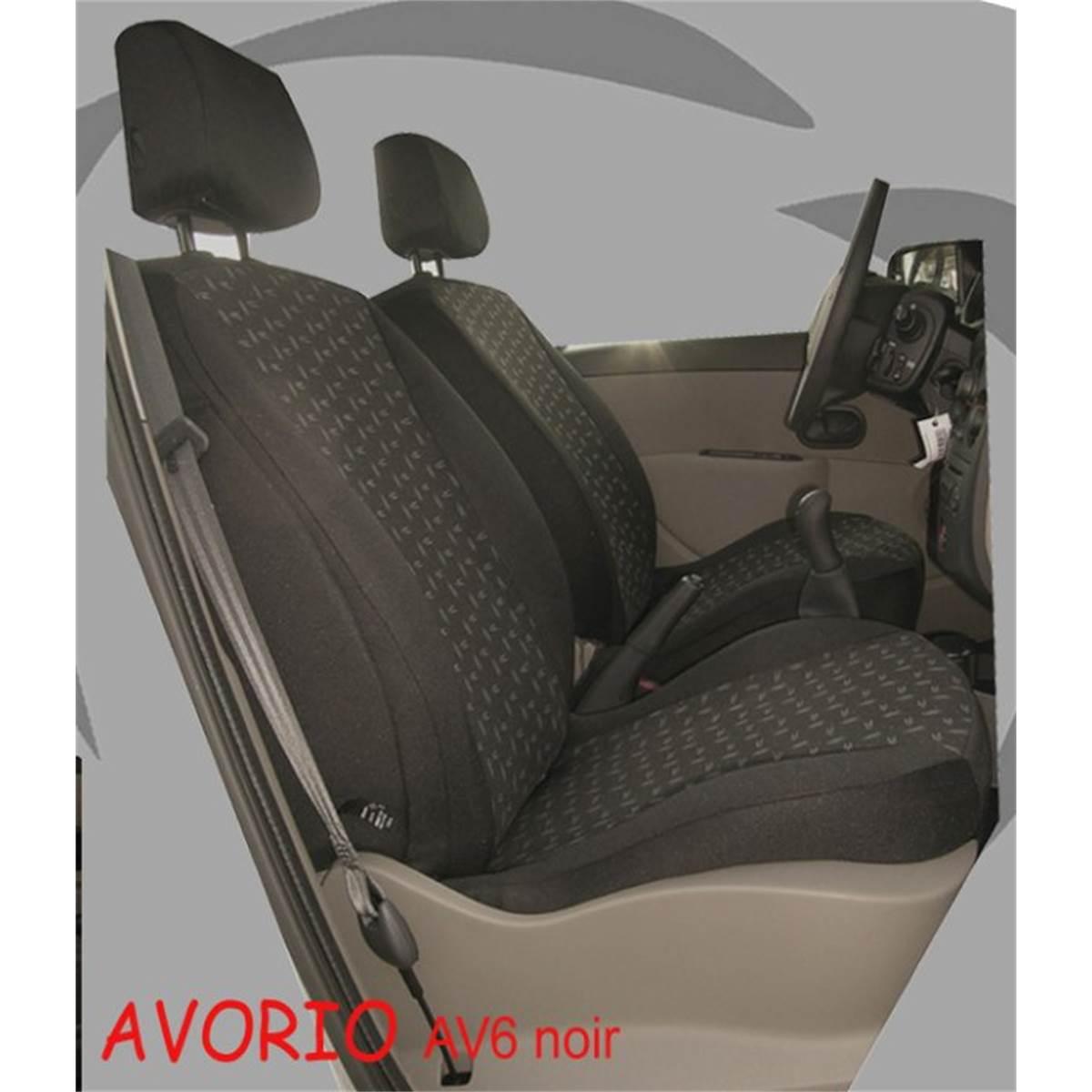 Citroen c2 2x Front velour p3-21 Sitzbezüge Housses De Protection Housse De Siège Voiture