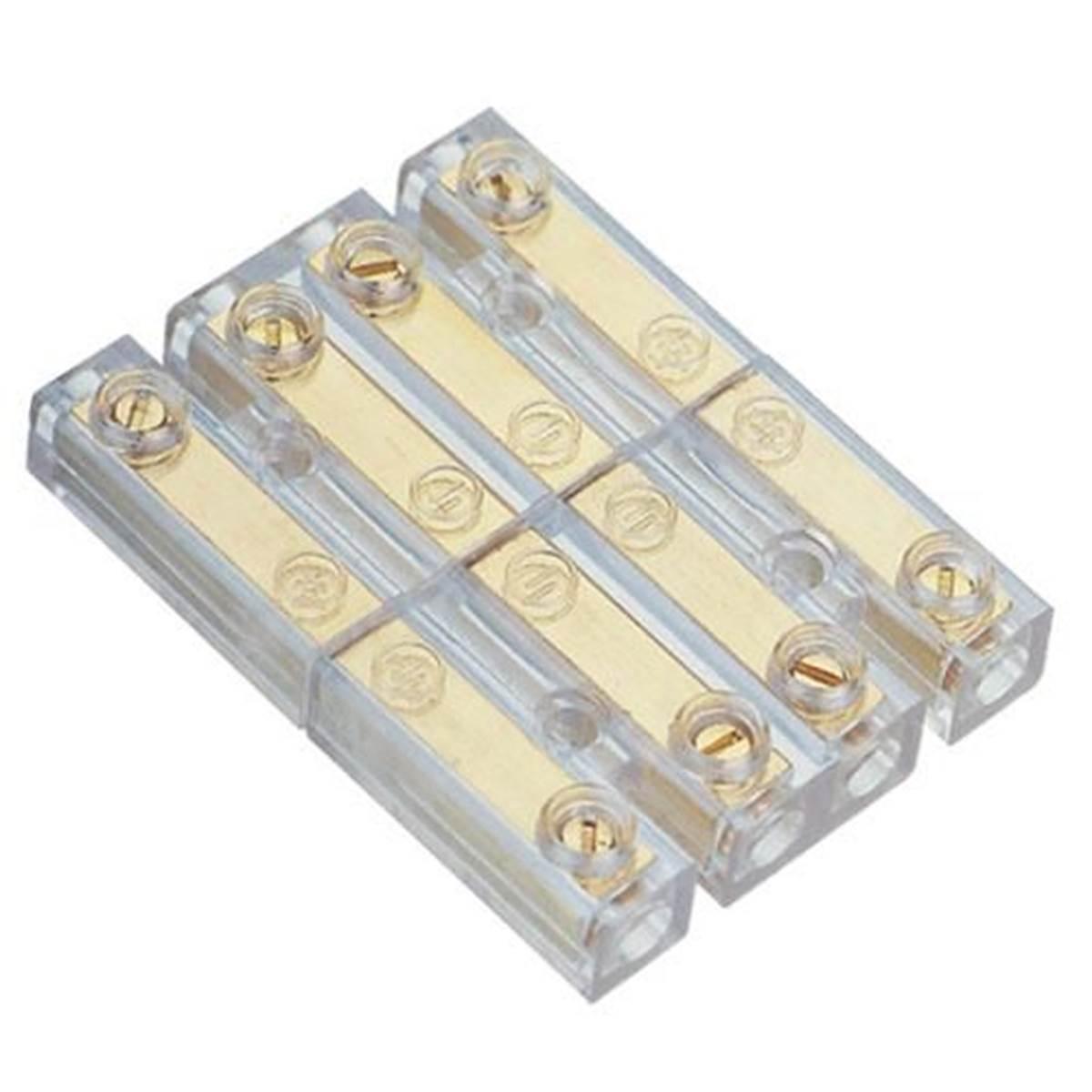 Barette de connexion pour haut-parleur or 1,5 mm²