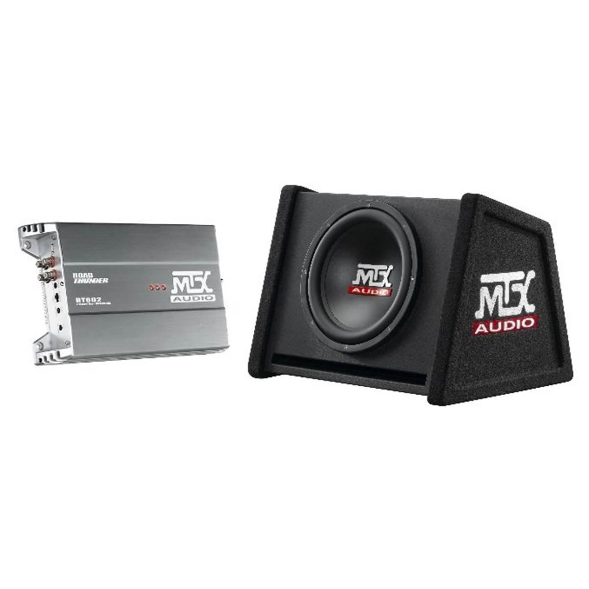 Pack caisson et amplificateur MTX RTP 2000
